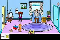 Play Garfield Crazy Rescue game