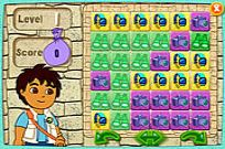 Play Diego's Puzzle Pyramid game