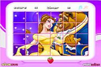 Play Princess Belle - Rotate Puzzle game