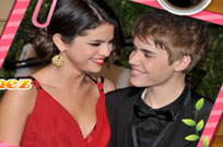 Play Justin Bieber And Selena Gomez Puzzle game