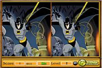 spielen Batman - Spot The Difference Spiel