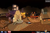 Escape From Halloween làng game