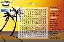 spielen Word Search Gameplay 5 - Afrika Spiel