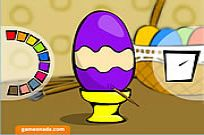 Play Painted Eggs game