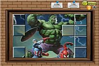 Play Photo Mess - Hulk With Friends game