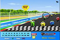 spielen Finish Line Bike Hidden Numbers Spiel