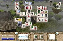 Play Aerial Mahjong game