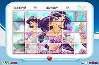 Play Princess Jasmine Rotate Puzzle game