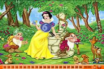 Play Hidden Numbers - Snow White game