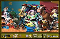 Play Toy Story 3 Hidden Objects game