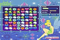Play Tinkerbell's Jewel Jumble game