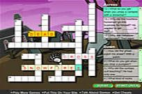 Play Creepy Crossword game
