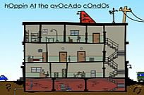 Play Hoppin' At The Avocado Condos game