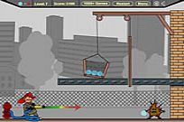 Play Firefighter Cannon game