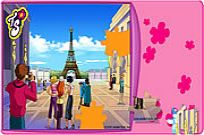 Play Totally Spies Puzzle - Eiffel Tower game
