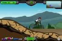 Play Ben10 BMX Ride game