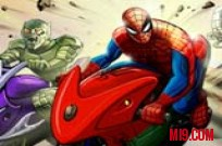 Play Spiderman Hills Racer game