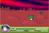 Play Space Ranger: Buzz Lightyear's Galactic Shootout game