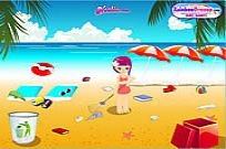 Play Summer Beach Clean-up game