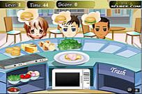 Play Merry Burger game