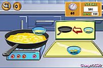 Play Cooking Show: Cheese Omelette game