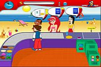 Play Beach Stall game