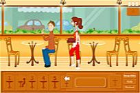 Play Cafe Waitress game