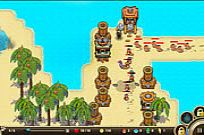 Play Castaway Island Tower Defense game