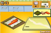 Play Cooking Show - Sushi Rolls game