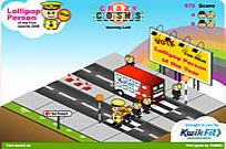 Play Crazy Crossings game