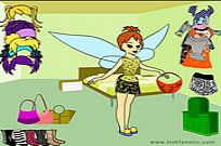 Play Tinkerbell Dress Up 2 game