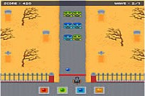 Play Zombowling Game game