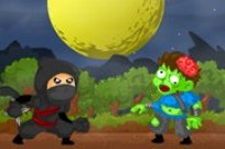Play Ninja Vs Zombie game