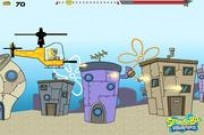 Play Spongebob Helicopter game