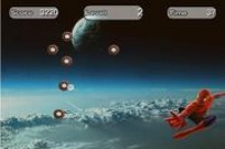Play Spiderman Space Shooting game