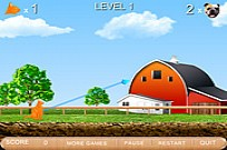 Play Flying Attack Cat game