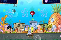 Spongebob Fruit Shooting Game