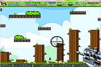 Play Shoot Green Piggy game