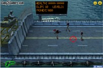 Play Zombies On The Bridge game