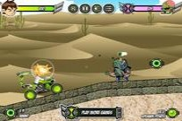 Play Ben 10 Alien Zombie Shot game