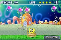 Bob Esponja Bubble Pop Game