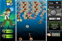 Play Ben 10 and alien balls game