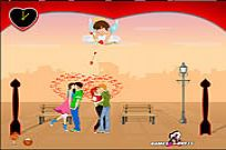 "Play Lover""s Day Kiss game"