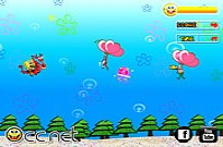 Play Soaring SpongeBob game