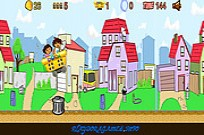 Play Dora and Diego City Railroad game