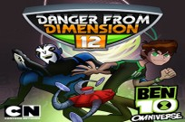 Play Ben 10 Danger From Dimension 12 game