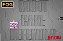 Play Robot Cake Defender game