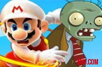 Play Mario kill Zombies game