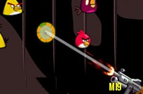 Play Angry Birds Shot game