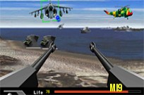 Play Beach Defence game
